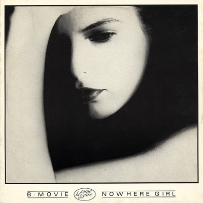 "Nowhere Girl - B-Movie (Singiel, Winyl, 12"", 33 ⅓ RPM, 45 RPM, Repress, ℗ 1982 © 1989) - przód główny"