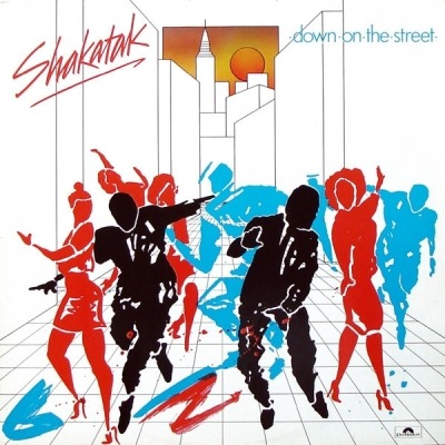 Down On The Street - Shakatak (Winyl, LP, Album, ℗ © 1984) - przód główny