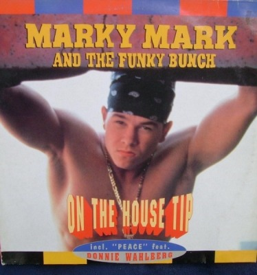 "On The House Tip - Marky Mark & The Funky Bunch (Winyl, 12"", Maxi-Singiel, 45 RPM, ℗ © 1992) - przód główny"