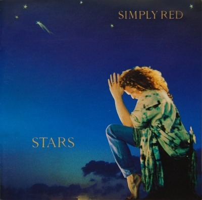 Stars - Simply Red (CD, Album, ℗ © 1991) - przód główny