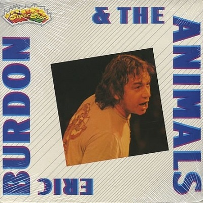 Eric Burdon & The Animals - Eric Burdon & The Animals (Winyl, LP, Kompilacja, Gatefold, ℗ © 1982) - przód główny