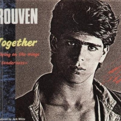 "Together (Flying On The Wings Of Tenderness) - Rouven (Winyl, 12"", Maxi-Singiel, 45 RPM, ℗ © 1986) - przód główny"