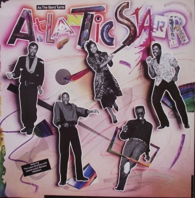 As The Band Turns - Atlantic Starr (Winyl, LP, Album, ℗ © 1985) - przód główny