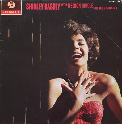 Let's Face The Music - Shirley Bassey With Nelson Riddle And His Orchestra (Winyl, LP, Album, Mono, ℗ © 1962) - przód główny