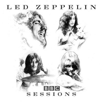 BBC Sessions - Led Zeppelin (2 x CD, Album, ℗ © 1997) - przód główny
