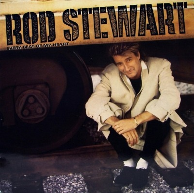 Every Beat Of My Heart - Rod Stewart (Winyl, LP, Album, German pressing, ℗ © 1986) - przód główny
