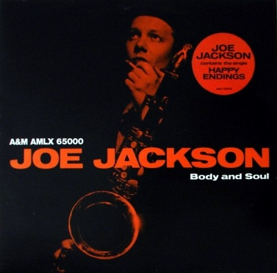 Body And Soul - Joe Jackson (Winyl, LP, Album, ℗ © 1984) - przód główny