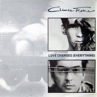 "Love Changes (Everything) - Climie Fisher (Winyl, 12"", Singiel, 45 RPM, ℗ 1987 © 1988) - przód główny"