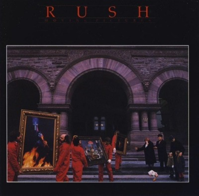 Moving Pictures - Rush (CD, Album, Reedycja, Remastering, Repress, EDC, ℗ 1981) - przód główny