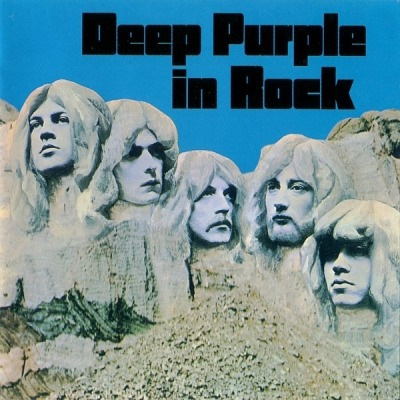 Deep Purple In Rock - Deep Purple (CD, Album, Reedycja, Remastering, Anniversary Edition, ℗ 1970 © 1995) - przód główny