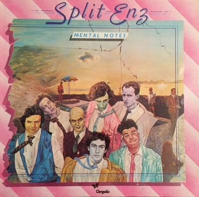 Mental Notes - Split Enz (Winyl, LP, Album, Gatefold, ℗ © 1976) - przód główny