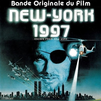 New York 1997 (Bande Originale Du Film) - John Carpenter En Association Avec Alan Howarth (Winyl, LP, Album, Stereo, ℗ © 1981) - przód główny