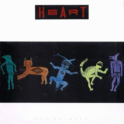 Bad Animals - Heart (Winyl, LP, Album, Stereo, ℗ © 1987) - przód główny