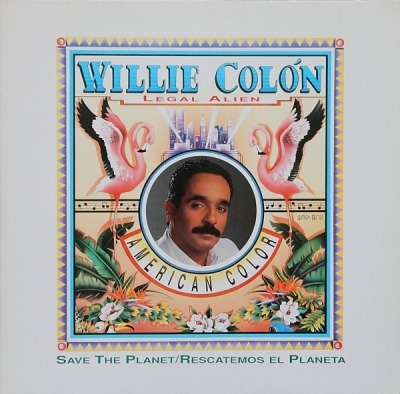 American Color - Willie Colón (Winyl, LP, Album, ℗ © 1990) - przód główny