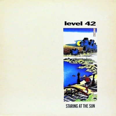Staring At The Sun - Level 42 (Winyl, LP, Album, Sleeve Not Embossed, ℗ © 1988) - przód główny