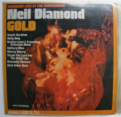 Gold - Neil Diamond (Winyl, LP, Album, Repress, Stereo, ℗ 1970) - przód główny